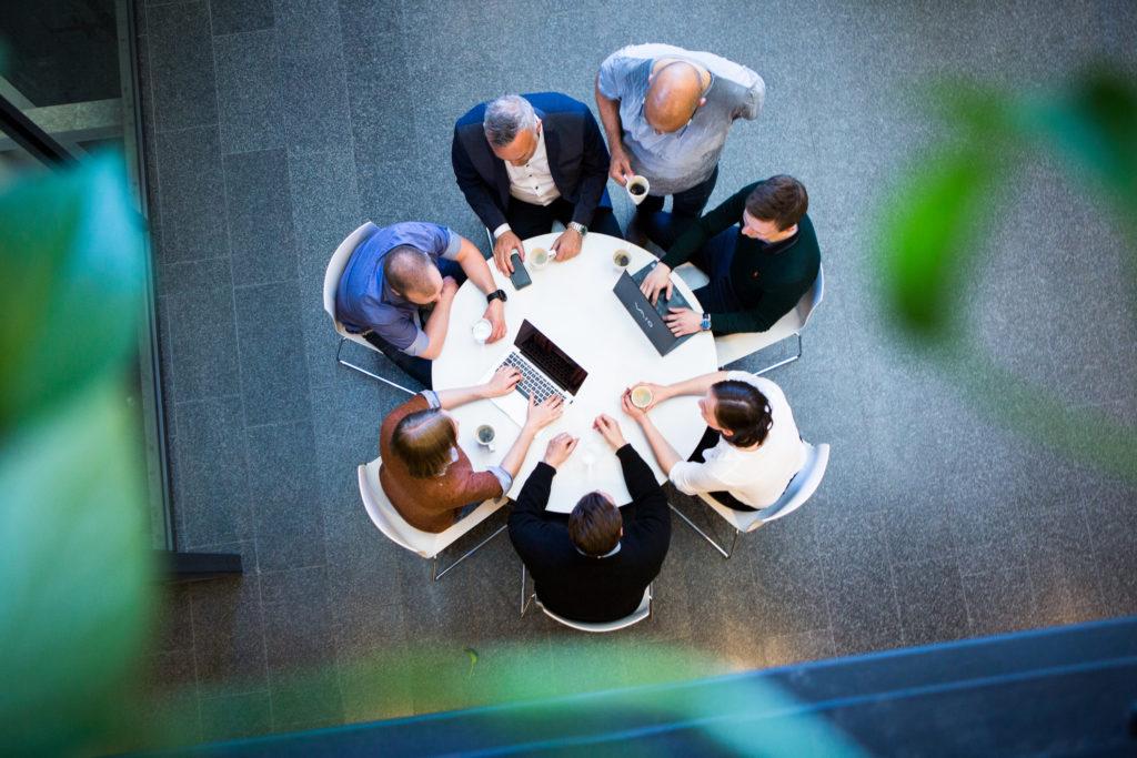Webstep cooperating people